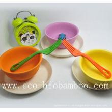 (BC-B2010) Modische Eco Bambus Faser Geschirr Schüssel