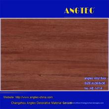 Plancher en bois composite en plastique en bois bon marché et imperméable de WPC
