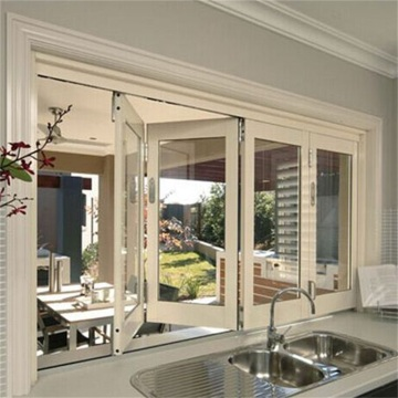 Sunsia Aluminum Bifold Window