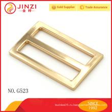 Золотая цветная три-скользящая пряжка ремня