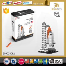 Melhor vender brinquedo educativo A estação de transmissão 537 pcs building block