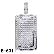 High Quality Fashion Jewelry Sterling Silver Pendant with Diamond