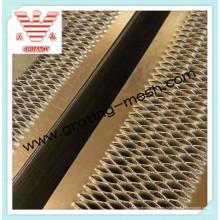 Placa perforada de aluminio del inspector del apretón