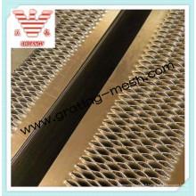 Plaque perforée perforée en aluminium