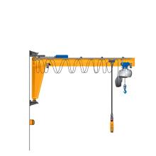 small wall mounted rotate 1ton jib crane