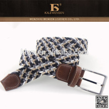 Großhandel OEM nützliche China-Unternehmen stricken Herren Designer-Mode Gürtel