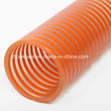 PVC Saugschlauch mit Orange Helix PVC