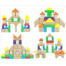 30pcs pequeños bloques huecos coloridos para los cabritos