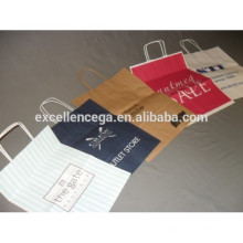 Saco de papel kraft impresso de preço favorável