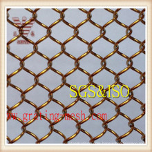 Hot-Dipped Galvanized Chain Link Fence Mesh