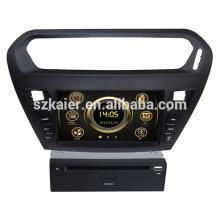 Vente chaude écran tactile wince voiture stéréo pour Peugeot 301 avec GPS / 3G / DVD / Bluetooth / IPOD / RMVB / RDS