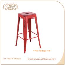 Tabouret de bar industriel de fer de meubles commerciaux faits sur commande d'usine de meubles