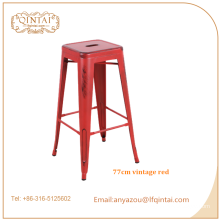 Factory custom commercial bar furniture industrial iron bar stool
