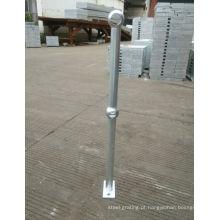 Corrimão de aço com revestimento galvanizado