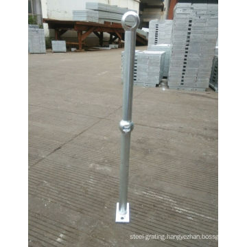 Steel Handrail with Galvanized Finish