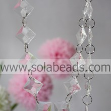 Hot Selling 25mm Crystal Beaded Strands Curtain