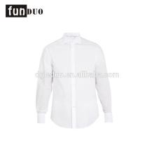 Hombres camisa blanca de manga larga de color sólido ventile vestido nupcial hombres camisa blanca de manga larga de color sólido ventile vestido nupcial