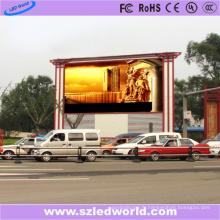 Le panneau fixe extérieur SMD LED de P5 HD signe pour la publicité