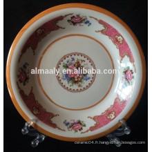 Assiette Omega en porcelaine design Indonésie