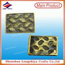 Großhandel Metall Custom personalisierte Gürtelschnallen für Frauen oder Männer Metall Gürtelschnalle