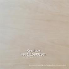 Madera contrachapada comercial del núcleo del álamo de la chapa del okoume de 18MM para los muebles