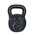 75 LB Bear Animal Rosto Kettlebell