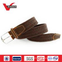 Unisex gewebte elastische Seil geflochtenen Gürtel