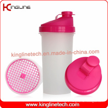 700ml Plastic Protein Shaker Bottle with Filter