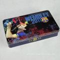 Customized Promotional Rectangular Metal Tin Box, Tin Can
