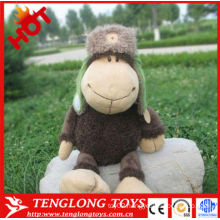 cute lovely plush sheep toy ,sheep stuff toys