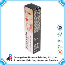 Custom printed cute cardboard packaging cosmetic box
