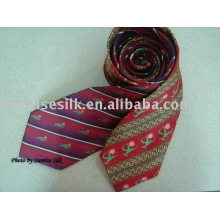 New Design Mens 100% Printed Silk Tie