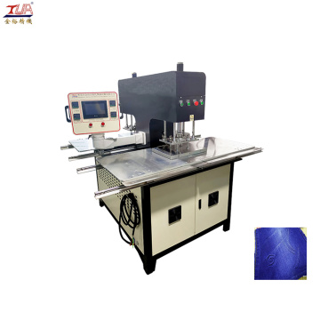 Oil Hydraulic Fabric Patch Embossing Machine