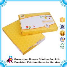 Embaladora de cajas de cartón corrugado de papel personalizado de alta calidad
