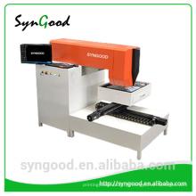 Mini máquina de corte do metal do laser do CNC Marca de fábrica de Syngood especial para letras do metal do mini