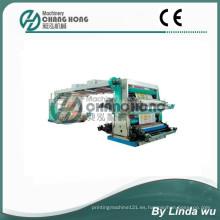 Máquina de impresión tejida de la flexografía del bolso de cuatro colores PP (CH884-800W)