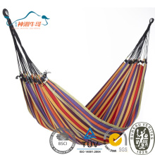 Cotton Rope Double Wide Promotional Outdoor Hammock