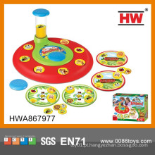 Interessante Animal Rotation Jogos de Luta Toy Educational Game