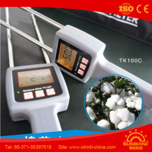 Tk100c Conductivity Method Temperature Compensation Lint Seed Cotton Moisture Meter