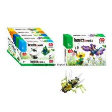 Brinquedo do bloco de edifício do boutique para DIY Insect World-Butterfly