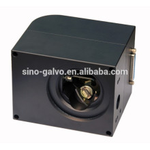 14mm aperture JD2208 High speed scan head / galvanometer scanner for 532nm glass engraving