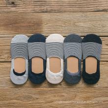 Men's super invisible silicone low cut socks