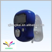Promoção presente branco plástico varejo contador de contagem de dedo