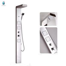 CB-6916 Banheiro 304 painel de chuveiro de acabamento escovado em aço inoxidável
