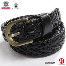 2015 new hot sale product lady's Braided Elastic Stretch Belt