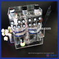 Acrylic Lipstick Tower Makeup Organizer with Drawers
