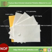 Oil and water proof Polyester needled felt (filter bags)