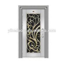 Portes coupe-vent de luxe en cuivre de haute qualité fabriquées par EHE