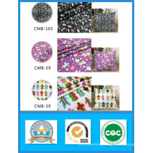 100% Cotton Hot Sale Printed Canvas Fabric in Stock Weight 250GSM Width 150cm