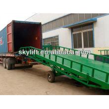 rampa de carga de contenedores móviles con 3t-10t